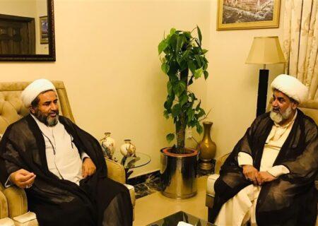 علامہ راجہ ناصر عباس کی علامہ عارف واحدی سے ملاقات، باہمی دلچسپی کے امور پر تبادلہ خیال