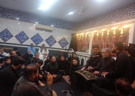 لاہور میں لکھنوی طرز کی مجلسِ سوز خوانی توقیر کھرل