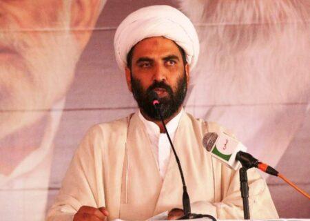 قائد اعظم محمد علی جناحؒ نےجو وطن بنایا وہ مسلکی نہیں بلکہ مسلم پاکستان تھا، علامہ مقصود ڈومکی
