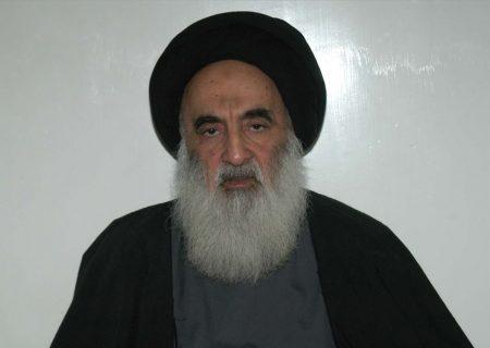 مشکل حالات میں افغانستان کی بے بس قوم کو تنہا نہ چھوڑیں، آیت اللہ سیستانی