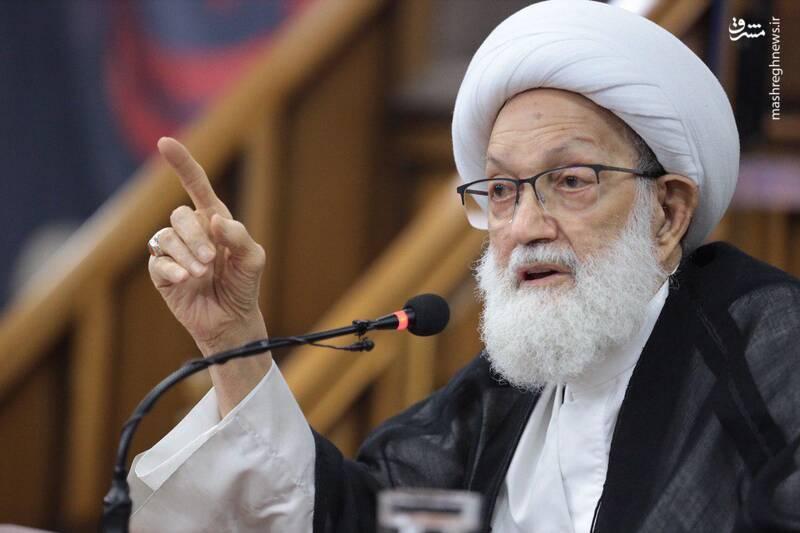 بحرین کا وجود خطرے میں ہے، آیت اللہ شیخ عیسی قاسم