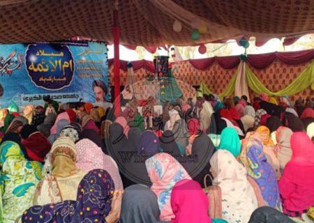 جامعہ صدیقۃ الکبری جام پور میں جشن میلاد حضرت زہرا (س) منعقد، حضرت زہرا کی زندگی خواتین کے لئے نمونہ عمل ہے، مقریرین