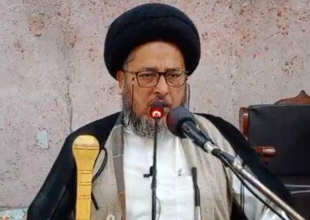 بیت المقدس امت مسلمہ کی عزت و غیرت کا مسئلہ ہے، شیعہ سنی اتحاد سے بیت المقدس آزاد ہوگا، علامہ سبطین سبزواری