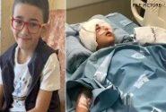 صیہونی عسکریت پسندوں کی فائرنگ سے فلسطینی بچے کی بینائی ضائع (ویڈیو)