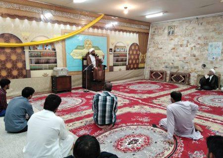 تصویری رپورٹ|قم؛آیت اللہ حافظ ریاض نجفی کی ہمشیرہ کے لیے مجلس ترحیم کا انعقاد