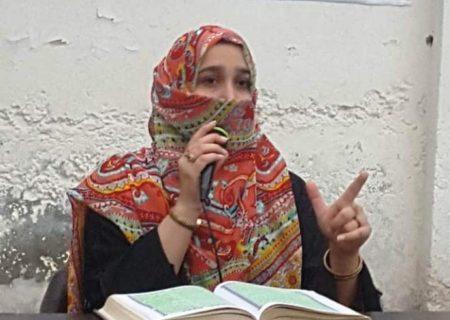 پاکیزہ اور صالح معاشرے کے قیام کیلئے سیدہ کائنات کی سیرت ایک درخشاں باب ہے، ہما اسماعیل