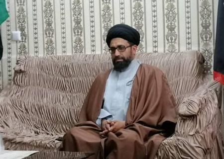 روز قدس مظلوموں کی حمایت اور ظالموں سے اظہار برائت اور اعلان جہاد کادن ہے،علامہ سید ظفر علی شاہ نقوی