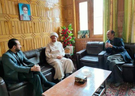 شیخ محمد حسن جعفری سے صوبائی وزراء کی ملاقات، علاقائی صورتحال پر تبادلہ خیال