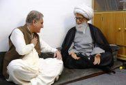 ویڈیو|وزیر خارجہ شاہ محمود قریشی کی عراق میں آیت اللہ العظمی حافظ بشیر نجفی سے ملاقات