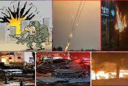تل ابیب میں آگ اور دھواں، غداروں پر وحشت اور صہیونیوں پر بوکھلاہٹ طاری