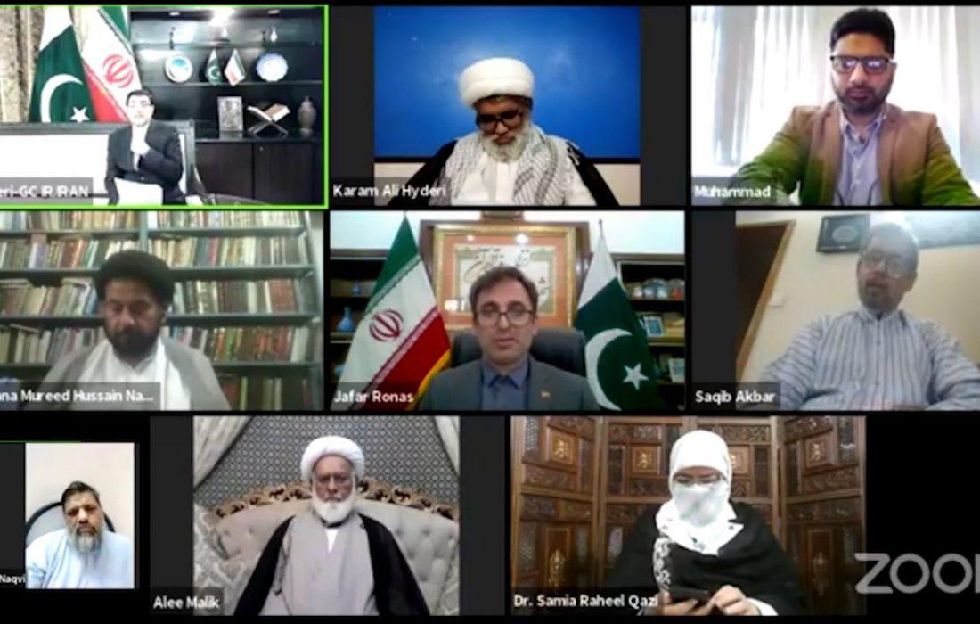 فلسطین اور قدس کا مسئلہ عربوں کا معاملہ نہیں یہ اسلام کا معاملہ ہے، علامہ سید مرید حسین نقوی