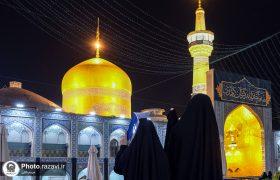 تصویری رپورٹ|روضہ مقدس حضرت امام علی رضا علیہ السلام میں اعمال  لَیْلَهِ الْقَدْرِ کے مناظر