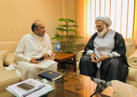 چیئرمین اسلامی نظریاتی کونسل قبلہ ایاز سے ڈاکٹر علامہ محمد حسین اکبر کی ملاقات
