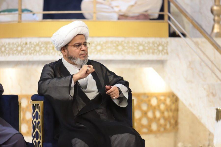 اربعین کی پیادہ روی کے احیا نے آیت اللّٰہ العظمی سید محمد سعید الحکیم کو ایک منفرد شخصیت بنا دیا تھا، علامہ شبیر میثمی