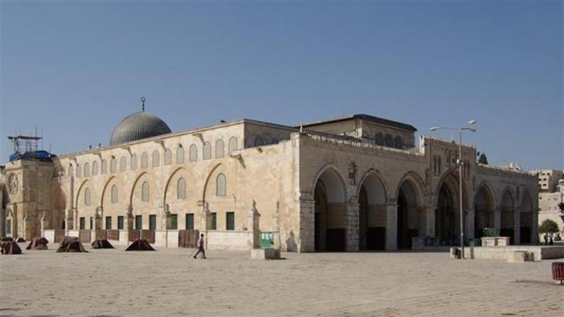 صیہونیوں کی اشتعال انگیزی، مسجد الاقصیٰ باب المغاربہ کا نام تبدیل کرنے کی سازش