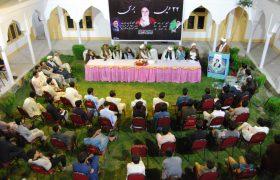 تصویری رپورٹ|امام خمینی کی بتیسویں برسی کے سلسلے میں جامعۃالنجف سکردو میں تقریب
