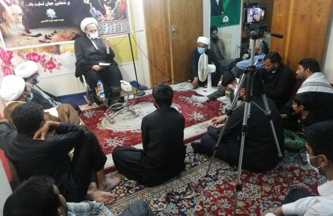 شہادت امام جعفر صادق علیہ السلام اور برسی امام خمینی رح کی مناسبت سے مشہد میں مجلس عزاء منعقد+تصاویر