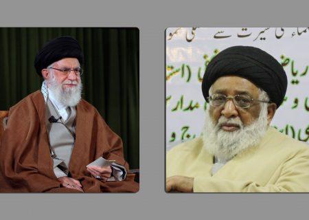 آیت اللہ حافظ سید ریاض حسین نجفی کا رہبر معظم انقلاب کے نام خط، کامیاب الیکشن پر مبارکباد