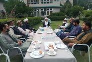 اسلامی تحریک اور جماعت اسلامی جی بی کے ذمہ داران کی اہم ملاقات
