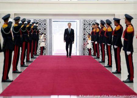 کچھ لوگ ہمارے ملک کی تقسیم چاہتے تھے لیکن عوام نے اتحاد کے ساتھ ، ان کی سازشوں پر پانی پھیر دیا، بشار اسد