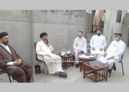 علامہ ساجد نقوی سے آزاد کشمیر کے تنظیمی وفد کی ملاقات