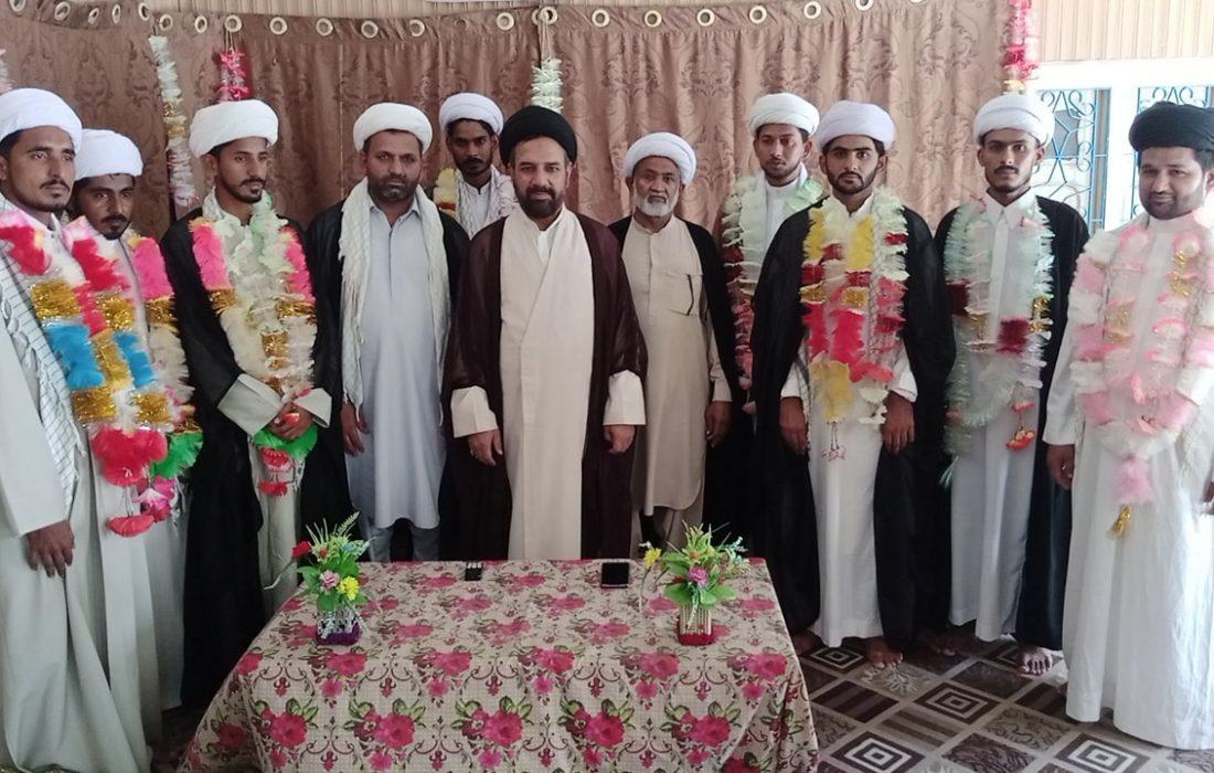 جامعۃ الحسین الشہیدؑ لقمان خیرپور میں تقریب عمامہ گذاری منعقد
