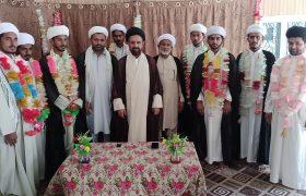 تصویری رپورٹ  جامعۃ الحسین الشہیدؑ لقمان خیرپور میں تقریب عمامہ گذاری منعقد