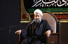 تصویری رپورٹ/حرم بی بی معصومہ(س) میں پانچویں امام کے یوم شہادت پر مجلس عزا