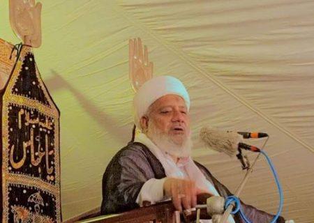 ایمان کے ساتھ عمل صالح ،انسان کے خسارے کو فائدے میں بدل دیتا ہے، علامہ محمد افضل حیدری
