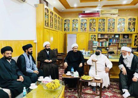 آیت اللہ حافظ سید ریاض حسین نجفی کی جانب سے مولانا محمد عباس قمی مرحوم کی وفات پر تعزیت