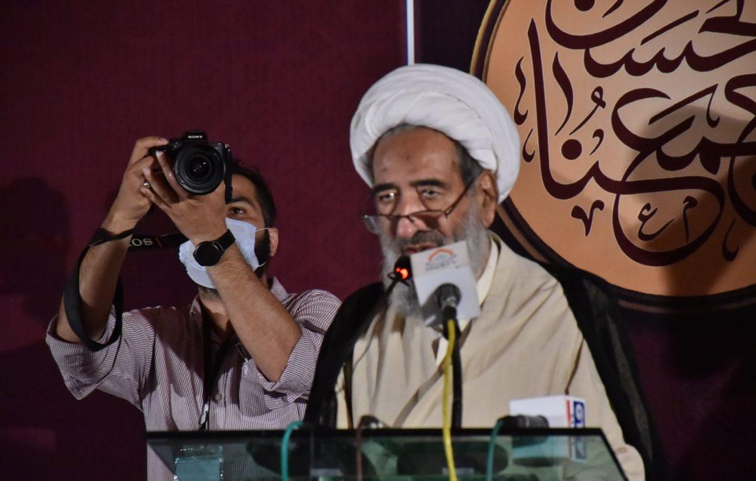 تکفیری عناصر نہ پاکستانی ہیں اور نہ ہی محافظین میں شمار ہوتے ہیں، علامہ شیخ محسن نجفی