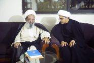 دفتر حضرت آیۃ اللہ حافظ بشیر نجفی کے وفد کی علامہ شیخ محسن على نجفى سے ملاقات
