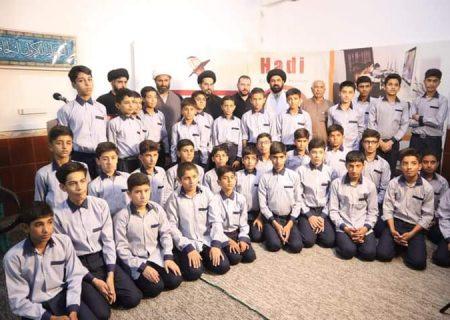 مکتب حضرت آیۃ اللہ حافظ بشیر حسین نجفی کے وفد کا ہادی ایجوکیشن سسٹم اسلام آباد کا دورہ
