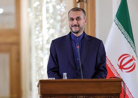 سعودی عرب کے ساتھ بعض معاملات پر اتفاق ہوا ہے، ایرانی وزیرخارجہ