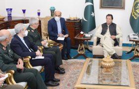 ایرانی مسلح افواج کے چیف آف اسٹاف کی وزیر اعظم عمران خان سے ملاقات