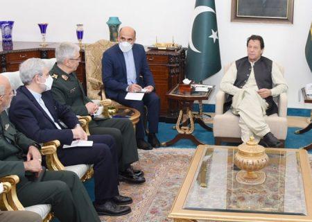 وزیراعظم عمران خان سے ایران کے چیف آف جنرل اسٹاف کی ملاقات