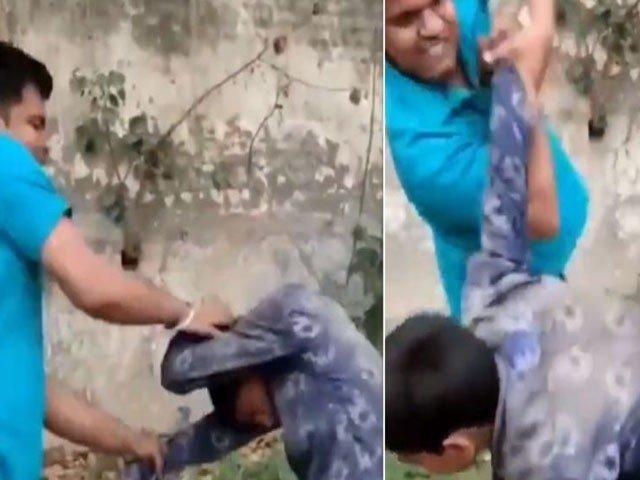 بھارت میں مندر میں غلطی سے داخل ہونے پر مسلم لڑکے پر بہیمانہ تشدد