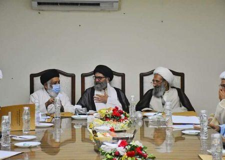 تصویری رپورٹ|وفاق المدارس الشیعہ پاکستان کا اجلاس اسلام آباد میں منعقد