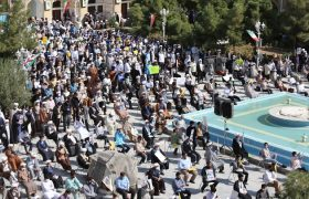 تصویری رپورٹ| افغانستان میں جاری دھشت گردی کے خلاف حوزہ علمیہ قم میں احتجاجی مظاہرہ