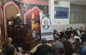 تصویری رپورٹ || شب شہادت امام حسن عسکری کی مناسب سے حسینیہ بلتستانیہ قم ایران میں مجلس عزا منعقد