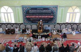 تصویری رپورٹ| مسجد قندهار افغانستان میں سانحہ نماز جمعہ کے شہداء کی یاد میں مجلس ترحیم منعقد