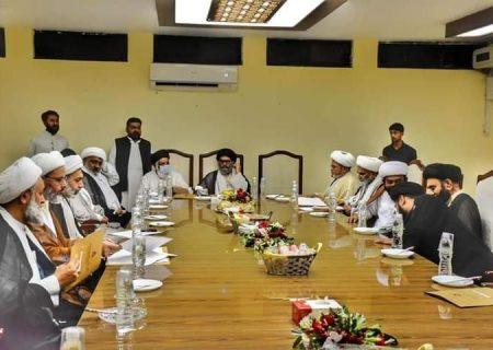 وفاق المدارس الشیعہ پاکستان کا اجلاس اسلام آباد میں منعقد
